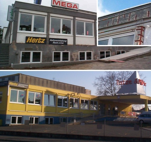 Firmengebäude in Aschaffenburg